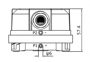 PS-500 габаритный чертеж, PS-500-L размеры, DS-106 чертеж, DPD-5, DPD-2